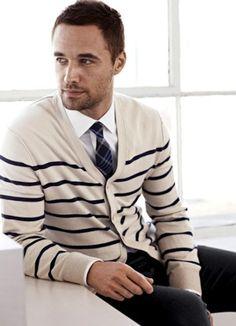 Love a man in a cardigan