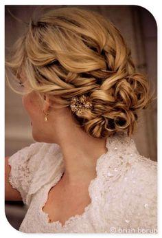 wedding hair #2 @Abby Christine Christine Christine Christine Hammond