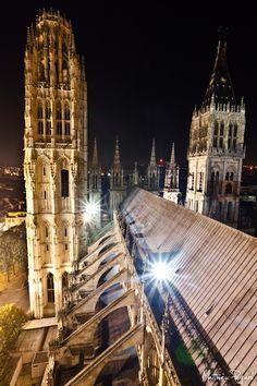 Toit de la Cathédrale de Rouen 3
