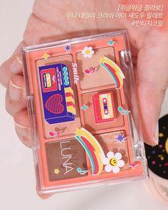 Makeup Kit, Makeup Inspo, Skin Makeup, Beauty Makeup, Kawaii Makeup, Cute Makeup, Aesthetic Makeup, Pink Aesthetic, Peach Makeup