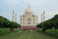 View of Taj Mahal from Mehtab Bagh