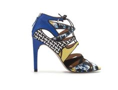 These irresistibly playful heels will take you straight to your happy hour. Multicolored Lace Up Sandal; $79; at zara.com