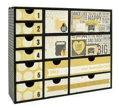 Take Note is so fantastic for scrapping BTP. This complete storage unit looks amazing. Pick yours up today <3