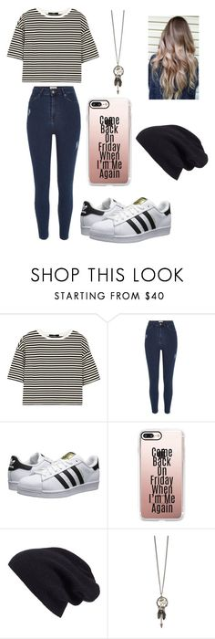 """""""Untitled #517"""" by jessica-smith-xxv ❤ liked on Polyvore featuring TIBI, River Island, adidas Originals, Casetify and Halogen"""