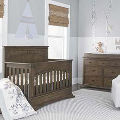 Bassett Furniture   Emerson 4 In 1 Convertible Crib #babycribs #cribs  #nurseryideas #