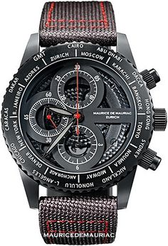 Mans diver watch from Maurice de Mauriac, Swiss Watchmakers. http://mauricedemauriac.ch/home.php watches for men