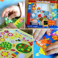 Tots - Stickers Pictures : Boite de loisir créatif composée de 6 tableaux différents à décorer à l'aide des 146 autocollants présents dans ce kit. #alextoys #TotsStickerPictures #autocollants #LoisirsCreatifs