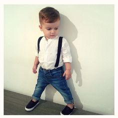 My ★ fashion_dael Cute Baby Boy Outfits, Little Boy Outfits, Cute Outfits For Kids, Toddler Outfits, Toddler Boy Fashion, Little Boy Fashion, Boys First Haircut, Kids Dress Clothes, Little Man Style