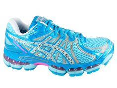 Asics Nimbus 15 Reflective Special Edition Running Shoes Womens NEW Blue ---> I MUST have these!!!!!!
