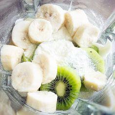 Kiwi Banana Protein Smoothie   Skinny Mom   Where Moms Get the Skinny on Healthy Living