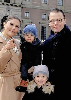 Crown Princess Victoria, Prince Daniel, Princess Estelle and Prince Oscar