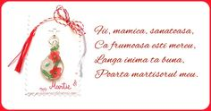 Trimite si tu acum o felicitare de 1 martie, o felicitare de martisor! Click pentru a alege o felicitare! 8 Martie, Foto Portrait, Mothers Day Crafts, Messages, Christmas Ornaments, Holiday Decor, Fii, Montessori, Facebook