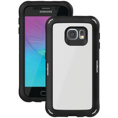 Ballistic Samsung Galaxy S 6 Explorer Case With Holster (white And Black) - MNM Gifts