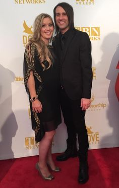 Me and my girlfriend/wife at the Dove Awards- Kevin from Twitter