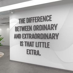 Motivational Quotes For Women Discover Office Decor Wall Decor Office Wall Art Office Wall Art Office Walls Home Office Decor sign - SKU:OREX Difference between ordinary and Extraordinary - School Office Quote - SKU:OREX Office Quotes, Work Quotes, Great Quotes, Quotes To Live By, Inspirational Quotes, Quotes On Walls, Quotes For The Office, Office Motivational Quotes, Work Encouragement Quotes
