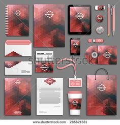 Stock Images similar to ID 133097813 - gray corporate identity...