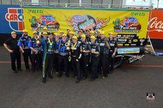 Matt Hagen & Crew Win the 2015 Phoenix nationals in the T/F Rocky Boots Funny Car.