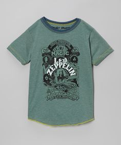 Look at this #zulilyfind! Smoked Pine 'Led Zeppelin' Tee - Infant, Toddler & Kids by Rowdy Sprout #zulilyfinds
