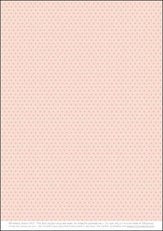 free background polka dots pink