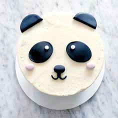 The cutest custom panda bear cake. Panda Birthday Cake, Birthday Cupcakes, 3rd Birthday, Birthday Ideas, Panda Bear Cake, Bear Cakes, Easy Cake Decorating, Cake Decorating Techniques, Panda Cupcakes