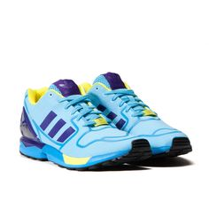 Adidas ZX Flux Techfit Mens Running shoes Yellow White Onix