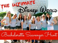 A scavenger hunt designed just for bachelorettes celebrating the end of their single days at Disney World | An Aspiring Heroine