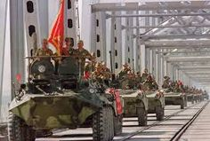 Detente was shattered with the Soviet invasion of Afghanistan in 1979. The USSR was forcibly exerting its power in a effort to establish Afghanistan as a communist state. For ten years, a poorly trained & equipped Soviet army was repeatedly beaten by Afghan guerrilla forces being supplied by the U.S.