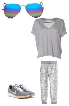 """Untitled #236"" by jazzy-jazzz on Polyvore featuring Ray-Ban, Acne Studios, Kenzo and NIKE"