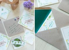 Tenn Hens Design - party invitation / custom design / illustration / garden party