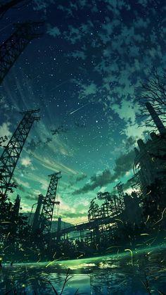 Digital Painting / Concept Art / Landscape / SciFi / Science Fiction / Other Planet / Future / Surreal / Mystic / Fantasy //♥ Fantasy Landscape, Landscape Art, Fantasy Art, Fantasy Dragon, Anime Scenery Wallpaper, Landscape Wallpaper, Twilight Sky, Night Skies, Amazing Art