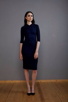 Dress in Black & purple v Collar fitted tube dress by Lennon & Courtney in store at Olivia Danielle Athlone Tube Dress, High Neck Dress, Purple, Store, Fitness, Black, Dresses, Fashion, Turtleneck Dress