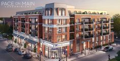 Pace on Main luxury condo is Stouffville's first boutique condominium with an excellent selection of suites ranging from one to three bedroom designs from 672 to 1,368 square feet with underground parking space. #condoliving