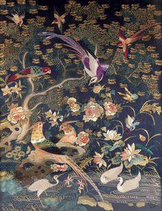 粤绣 (Guangdong embroidery