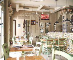 Cool restaurant in Vejer de la Frontera, caidz, Spain