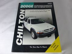 Dodge neon dodge pinterest neon cars and vehicle chilton repair manual dodge durango dakota 2001 2004 chilton fandeluxe Choice Image