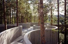 Descubren paisajes increíbles. Arquitectura con vistas que provocan emociones y dan un poco de vértigo