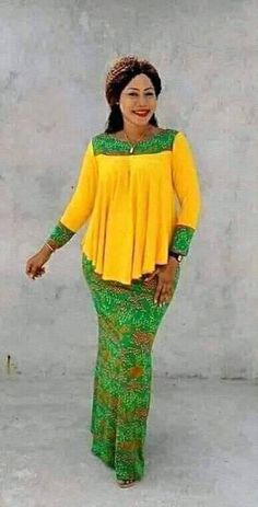 Latest ankara gown dresses for you-operanewsapp Latest African Fashion Dresses, African Dresses For Women, African Print Fashion, Africa Fashion, African Attire, African Women, Modern African Dresses, Ankara Fashion, Tribal Fashion