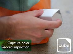 Capturing the color of a leaf onto your iPhone