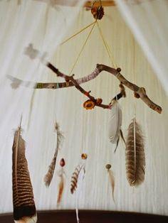 Pióra jako dekoracja wnetrza