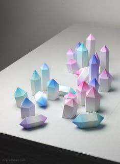 Crystalline Paper Advent Calendars : diy advent calendar