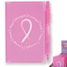 Breast Cancer Awareness Pocket Notebook