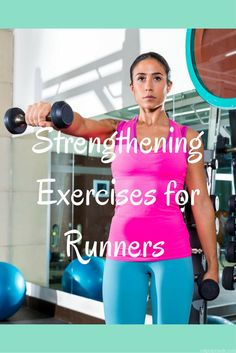 Strengthening Exercises for Runners. Add these exercises to your routine to stay healthy and injury free! via Eat Pray Run DC