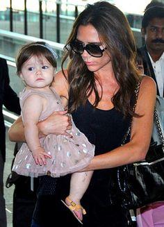 Harper Seven Beckham élue bébé le plus stylé du monde