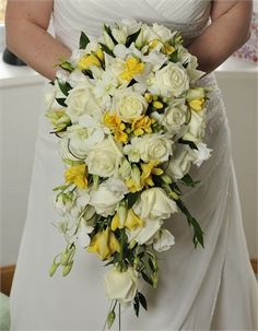 Bride holding Bouquet from Bill Bryne Photography