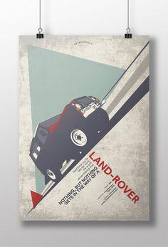 Land Rover 'Dambuster' print – Retro Eighty Design