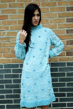 Vintage 1960s Exquisite Vintage Beaded Dress by BirdOnAWireVintage, £120.00