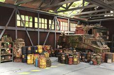 Fallout 4 Settlement Ideas, 40k Terrain, Post Apocalyptic, Boards, Miniatures, War, Models, Future, Table