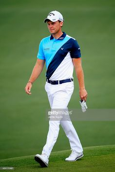 Danny Willett of England walks across the second green during the second round of the 2015 Masters Tournament at Augusta National Golf Club on April 10, 2015 in Augusta, Georgia.
