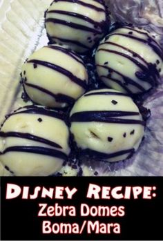 Delicious Disney Dishes: Boma's Zebra Domes | http://www.themouseforless.com/blog_world/2014/07/delicious-disney-dishes-bomas-zebra-domes/