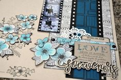 feutre-cathy-2 Scrapbooking, Frame, Decor, Fedoras, Birthdays, Draw, Projects To Try, Picture Frame, Decoration
